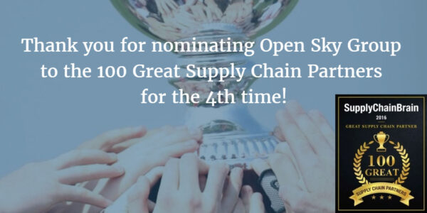Great Supply Chain Partner Open Sky Group