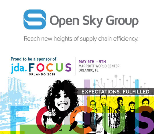 Open Sky Group JDA FOCUS 2018 WMS Upgrade Success Stories