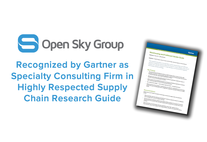 Open Sky Group Recognized by Gartner