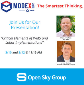 Open Sky Group's Modex Presentation Information