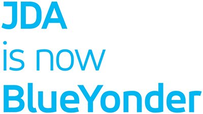 JDA is now Blue Yonder Logo